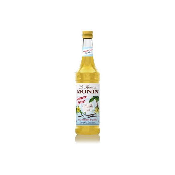 MONIN CUKORMENTES VANÍLIA SZIRUP 250 ml