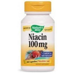 NATURES WAY NIACIN KAPSZULA 100 db