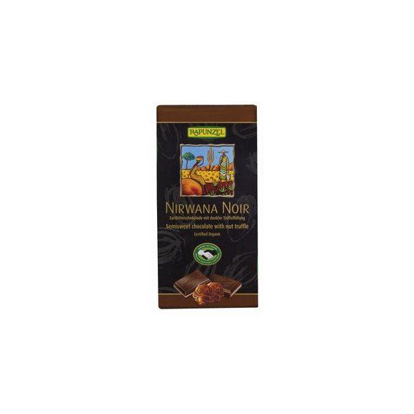 Rapunzel bio rizsitalos csokoládé nirwana vegán 100 g