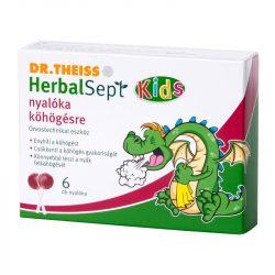 DR.THEISS HERBALSEPT NYALÓKA KÖHÖGÉS 6DB