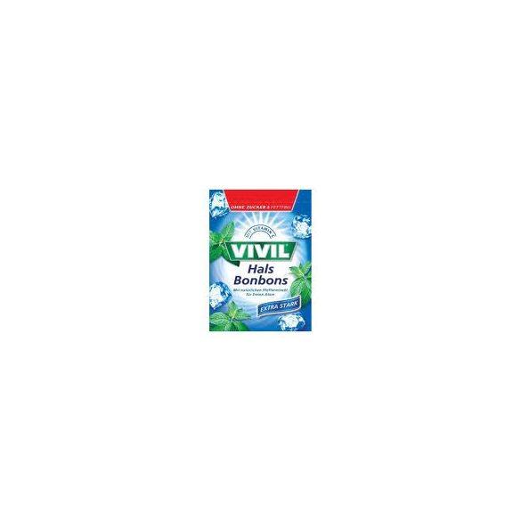 Vivil extra erős borsmentás cukorka 60 g