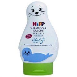 Hipp 9548 babysanft sampon és tusfürdő 200ml