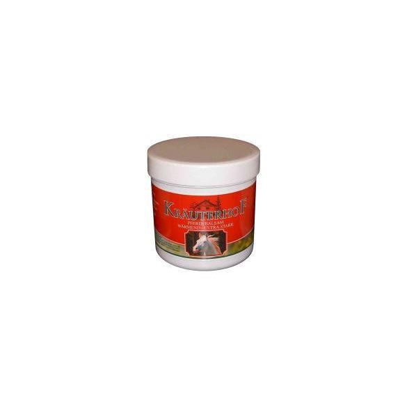 Krauterhof extra erős lóbalzsam 250 ml