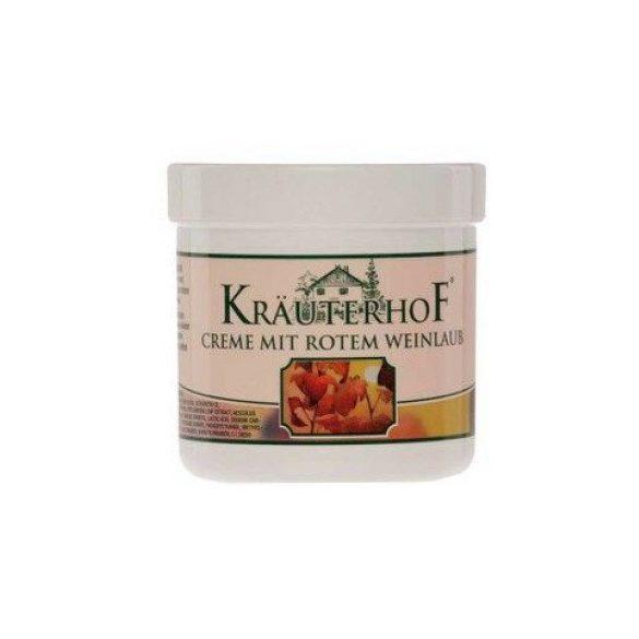 Krauterhof piros szőlőlevél krém 250 ml