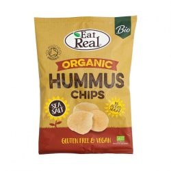 EAT REAL BIO HUMMUS CHIPS TENG.SÓS 100 G