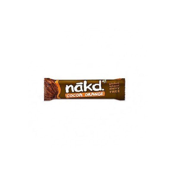 NAKD NYERS SZELET KAKAÓ-NARANCS 35 g