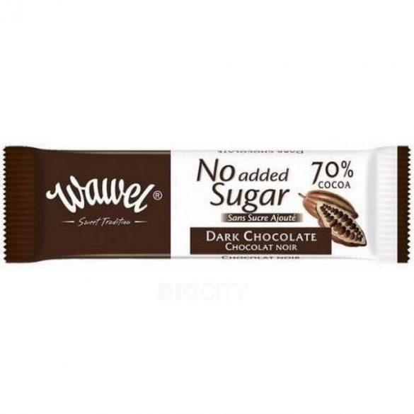 Wawel tejcsokoládé cukor hozzáadása nélkül 30 g