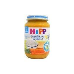 Hipp 6143 sárgarépa-rizs borjúhússal 190g