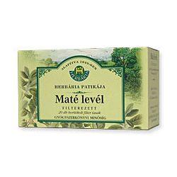 HERBÁRIA MATÉ LEVÉL TEA FILTERES 20 filter
