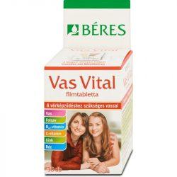BÉRES E. VAS VITAL FILMTABLETTA 30 db