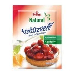 HAAS NATURAL TORTAZSELÉ PIROS 11 g