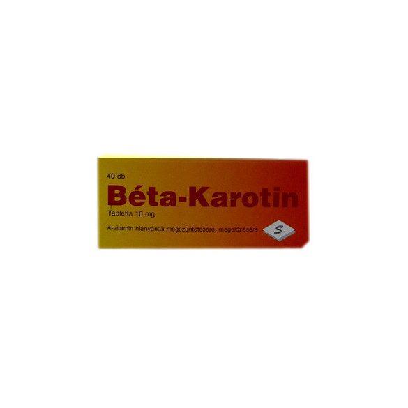 Selenium béta-karotin tabletta 40 db