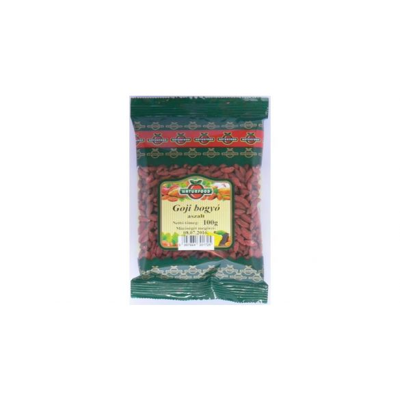 Naturfood aszalt goji bogyó 100 g