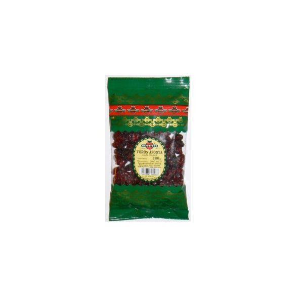 Naturfood aszalt egész vörösáfonya 100 g