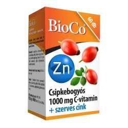 BIOCO CSIPKE C-VITAMIN+SZERVES CINK 60 db