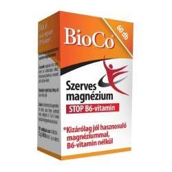 BIOCO SZERVES MAGNÉZIUM STOP B6-VITAMIN 60 db
