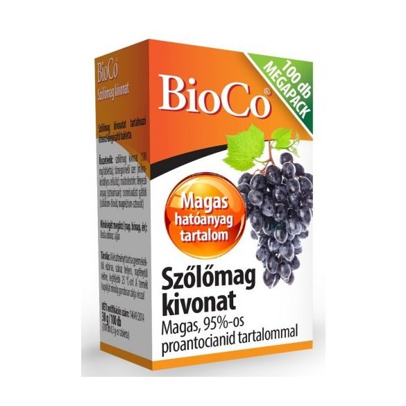 Bioco szőlőmag tabletta 100 db