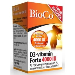 BIOCO D3-VITAMIN FORTE TABLETTA 100 db