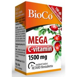 BIOCO MEGA C-VITAMIN 1500 MG FILMTABL. 100 db