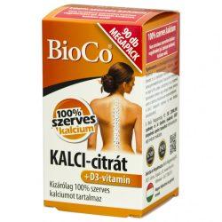 BIOCO KALCI-CITRÁT+D3-VITAMIN FILMTABL. 90 db