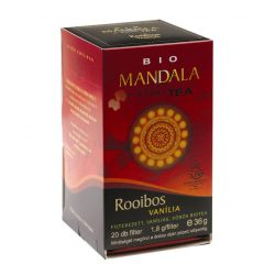 MANDALA BIO FILTERES TEA ROOIBOS VANILIA 20 filter