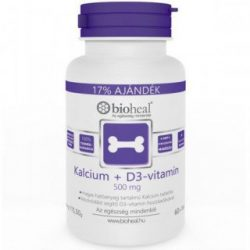 BIOHEAL KALCIUM+D3 VITAMIN TABLETTA