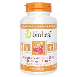 BIOHEAL ACEROLÁS C+D3-VITAMIN KAPSZULA