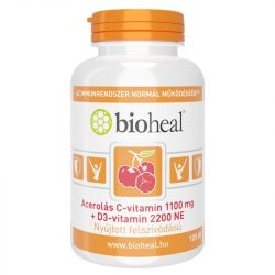 BIOHEAL ACEROLÁS C+D3-VITAMIN KAPSZULA 105 db