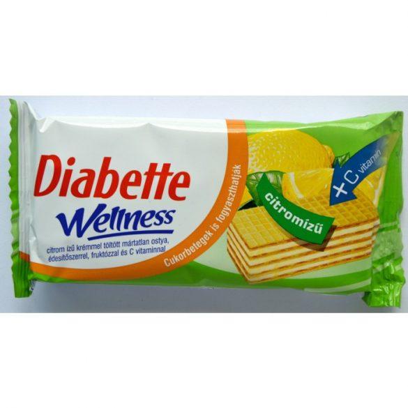 Diabette wellness citrom ostya, fruktózzal és c vitaminnal 50 g