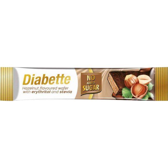 Diabette nas szelet mogyorós krémmel töltött csokibev ostya 26 g