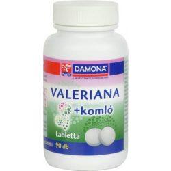 DAMONA VALERIANA+KOMLÓ TABLETTA 90 db