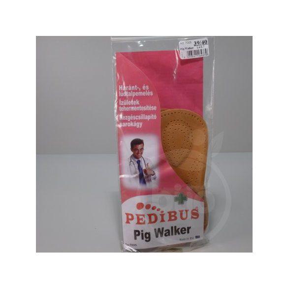 Pedibus talpbetét bőr pig walker 39/40 3/4 1 db