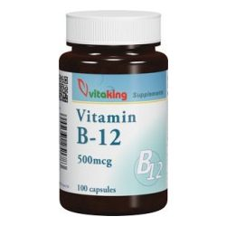 VITAKING B-12 VITAMIN KAPSZULA 500 MG