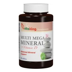 VITAKING MULTI MEGA MINERAL TABLETTA 90 db