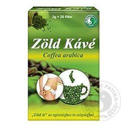 DR.CHEN ZÖLD KÁVÉ 20 filter