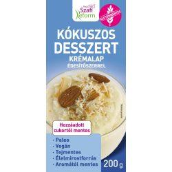 SZAFI R. ALAP KÓKUSZOS DESSZERT