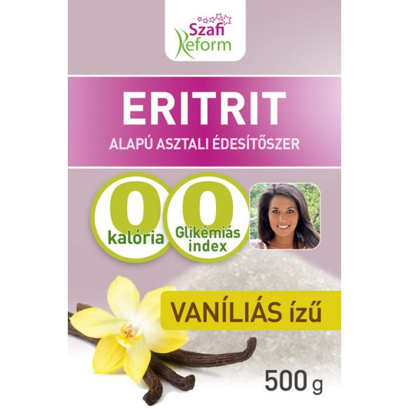SZAFI Reform ERITRITOL VANÍLIÁS 500G