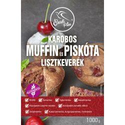SZAFI F. LISZTKEV.MUFFIN-PISKÓTA KAROBOS