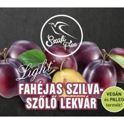 SZAFI F. LEKVÁR FAHÉJAS SZILVA-SZŐLŐ 350 g