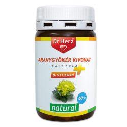 DR.HERZ ARANYGYÖKÉR+B VITAMIN KAPSZULA 60 db