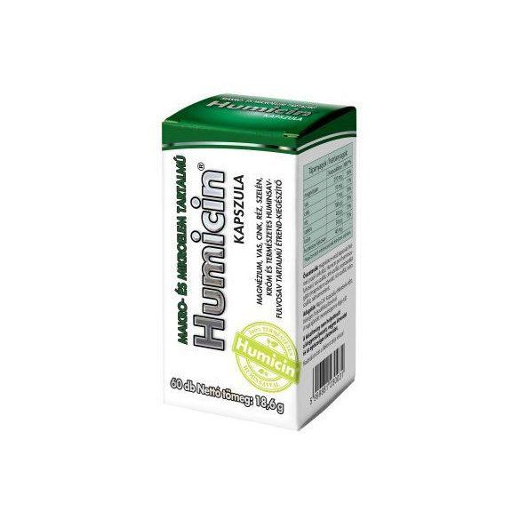 Humicin kapszula makro- és mikroelem tartalmú 60 db