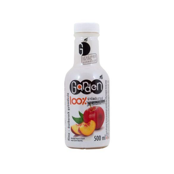 Garden friss almalé 80% őszibarack 20% 500 ml
