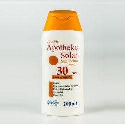 JUTAVIT APOTHEKE SOLAR NAPTEJ SPF-30 200 ml