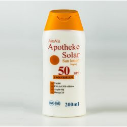 JUTAVIT APOTHEKE SOLAR NAPTEJ SPF-50 200 ml