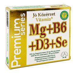 JÓ KÖZÉRZET PREMIUM MG+B6+D3+SE KAPSZULA