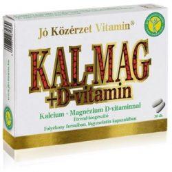 JÓ KÖZÉRZET KAL-MAG-D3+SE KAPSZULA 30 db
