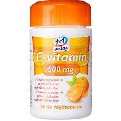 1x1 VITADAY C-VITAMIN 500 MG RÁGÓTABL. 60 db