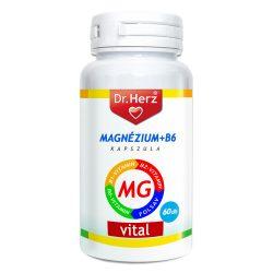 Dr. Herz Magnézium + B6 kapszula 60db