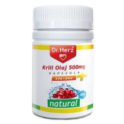 Dr. Herz Krill-Olaj 500mg kapszula MEGÚJULT 30db