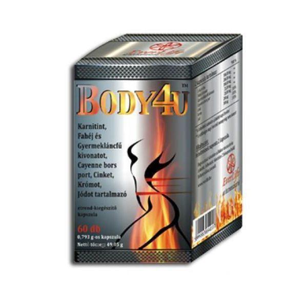 Body4u everlife étrend-kiegészítő kapszula 60 db